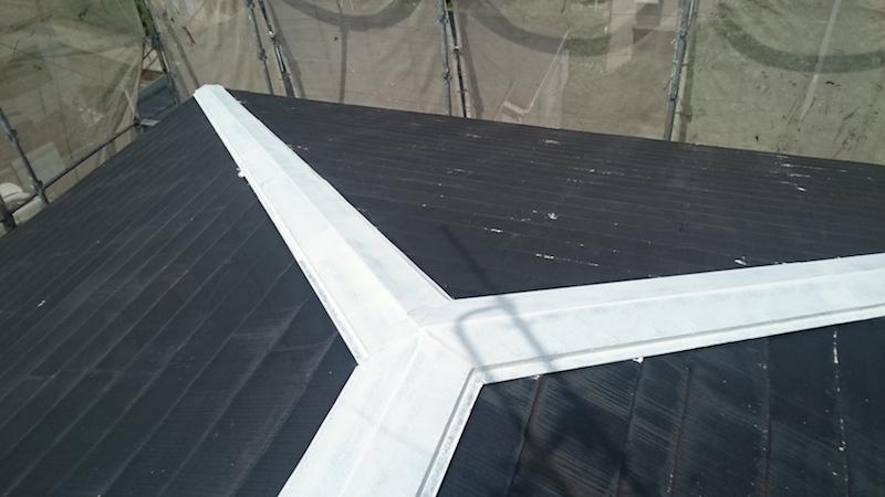 屋根板金の錆止め
