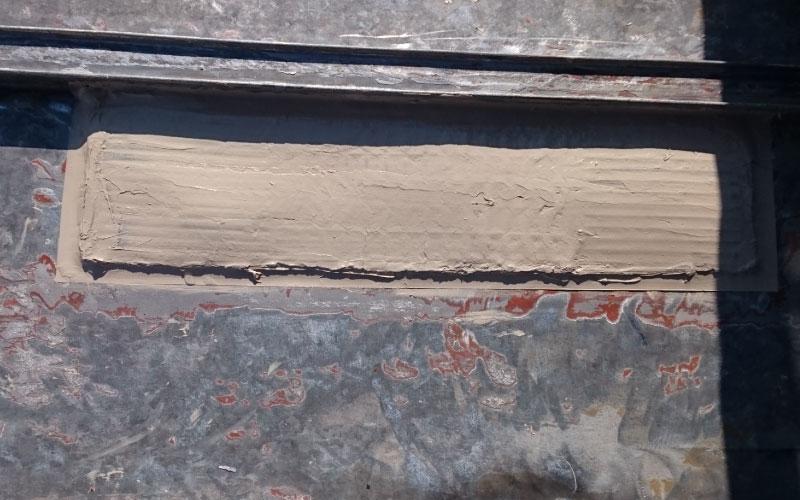 トタン屋根の穴の補修