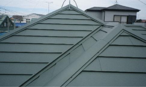 屋根カバー工法完成