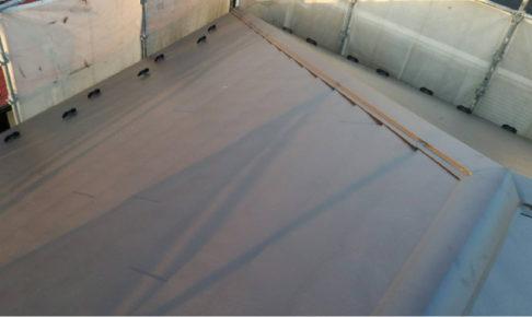 屋根のカバー工法の完成