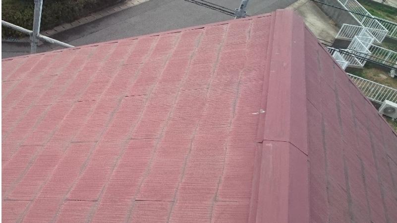 スレート屋根のちょーキング現象