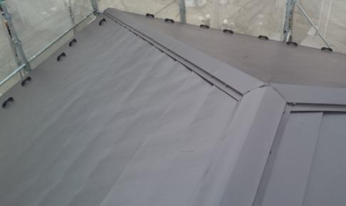流山市のカバー工法による屋根リフォーム完了