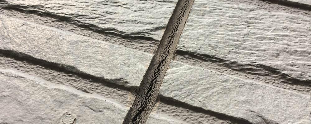 外壁のコーキングの劣化