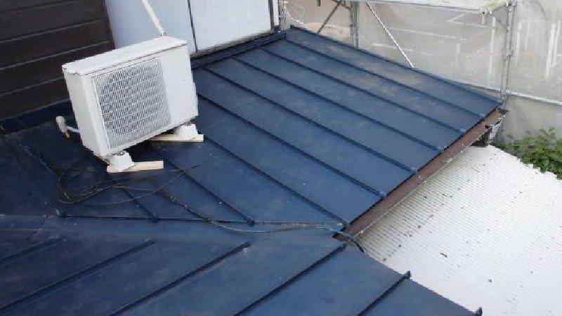 屋根の葺き替え工事完了