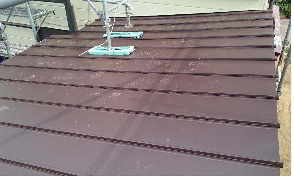 佐倉市の屋根の葺き替え工事
