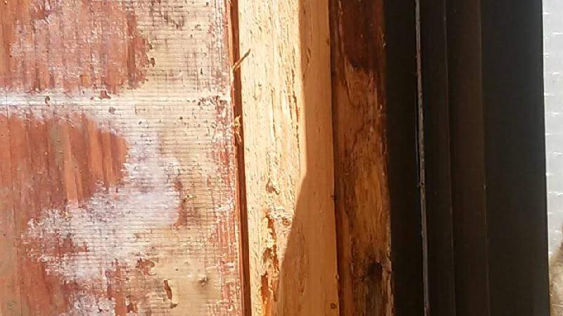 外壁の躯体の劣化
