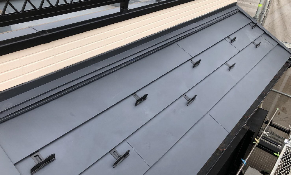 柏市の屋根のカバー工法リフォーム