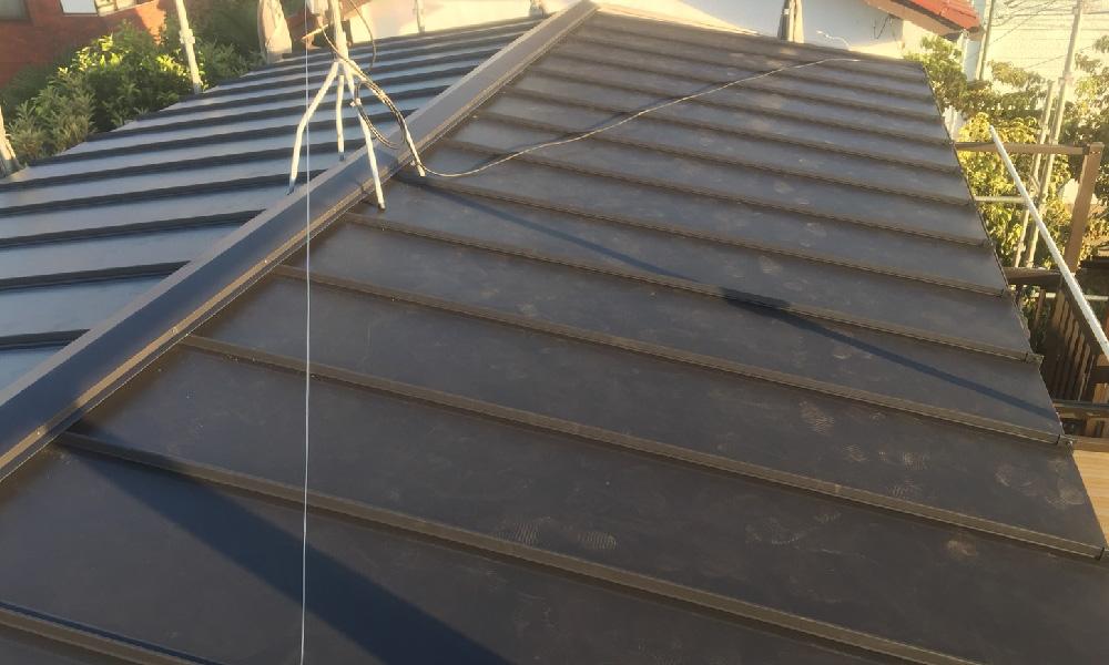 葛飾区の屋カバー工法リフォーム