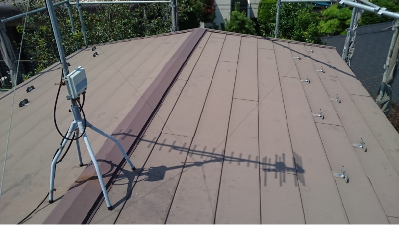 施工前の屋根の状態
