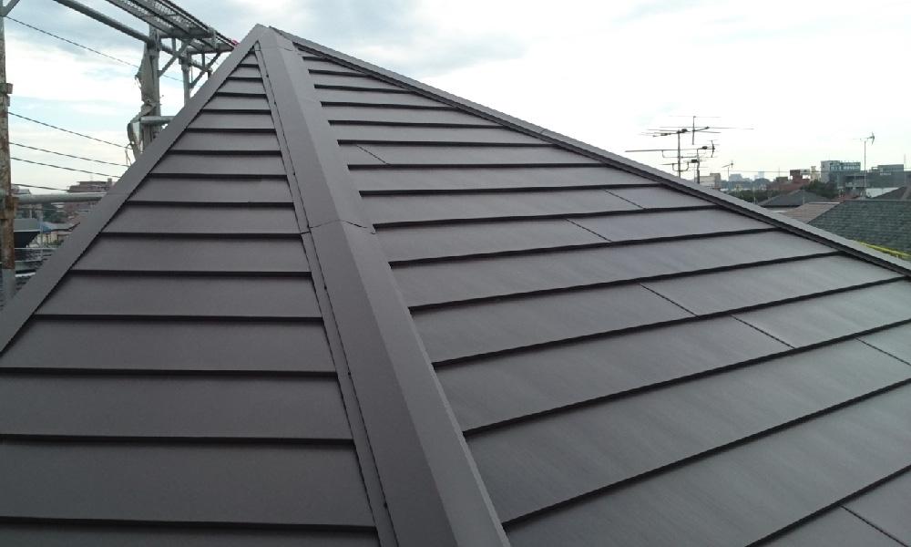 東京都北区の屋根カバー工法リフォーム
