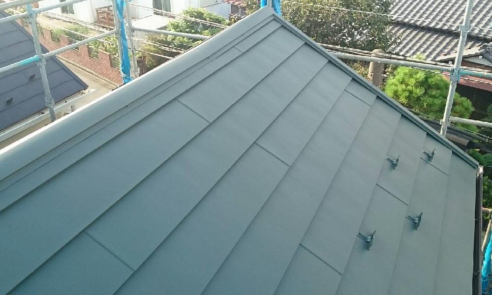 越谷市の屋根カバー工法リフォーム