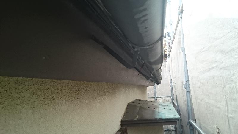 雨戸の施工前の様子