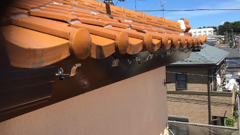 雨樋の設置