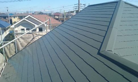 白井市の屋根塗装工事