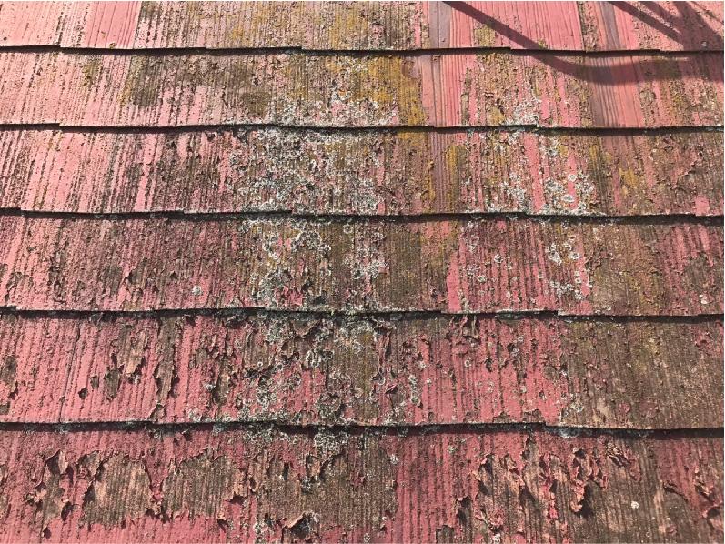 施工前の屋根材の状態