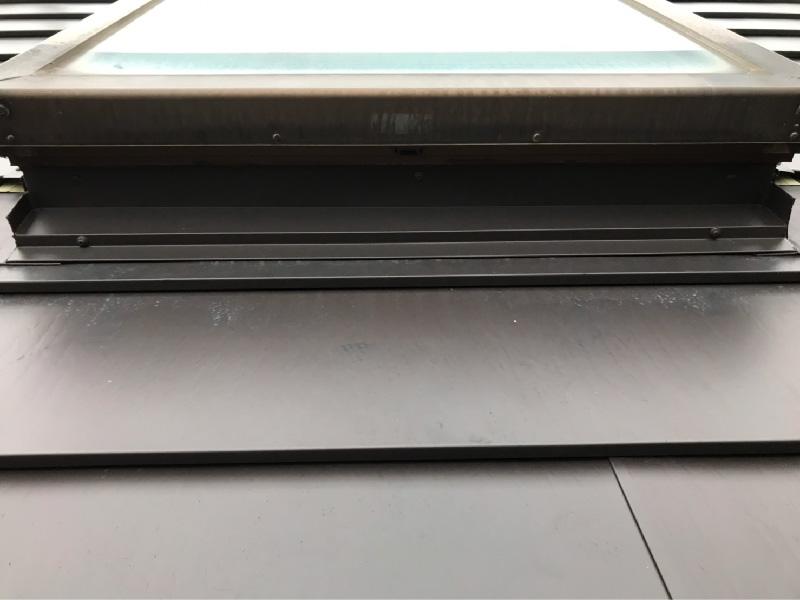 屋根のトップライトの雨仕舞い