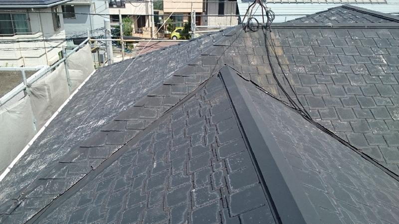 大屋根の施工前の様子