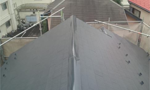 足立区の屋根塗装工事