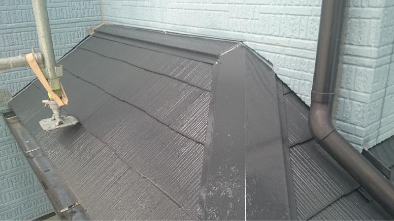 屋根塗装の施工後の様子
