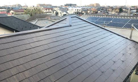 印西市の屋根塗装・棟板金工事
