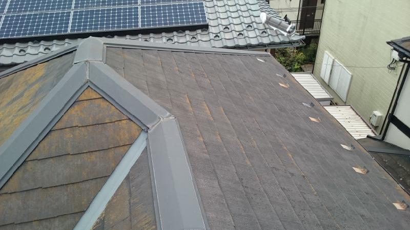 棟板金と屋根の劣化症状