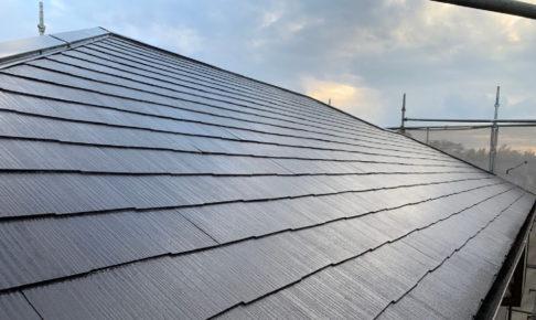 柏市の屋根板金交換工事と屋根塗装工事