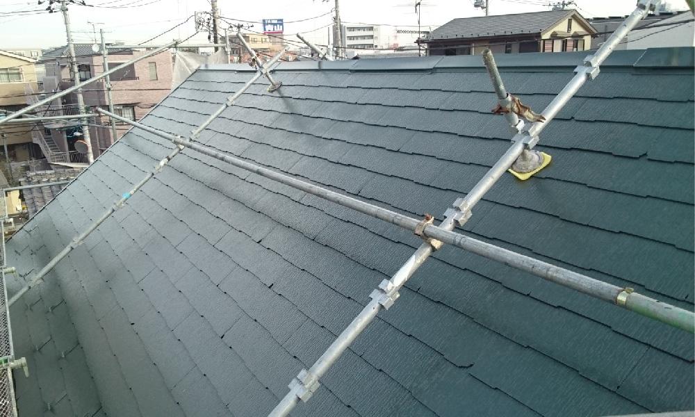 葛飾区の屋根塗装工事