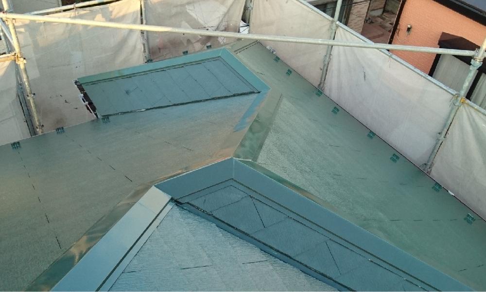越谷市の屋根塗装工事