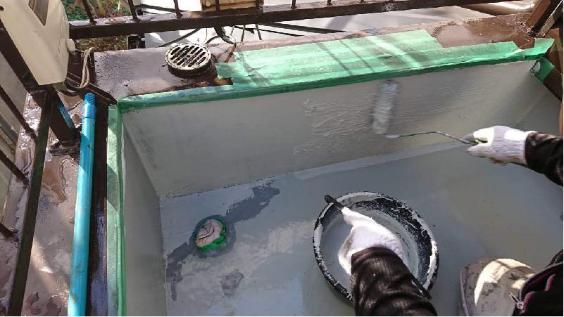 ベランダ防水のシーラー