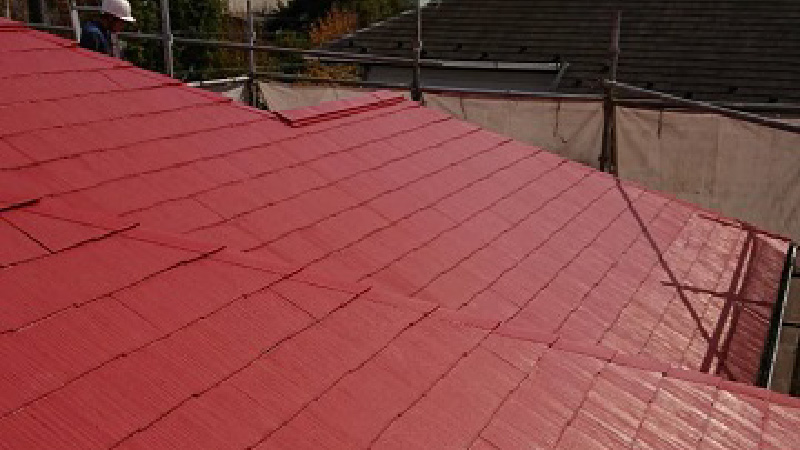 屋根カバー工法の施工前の状態