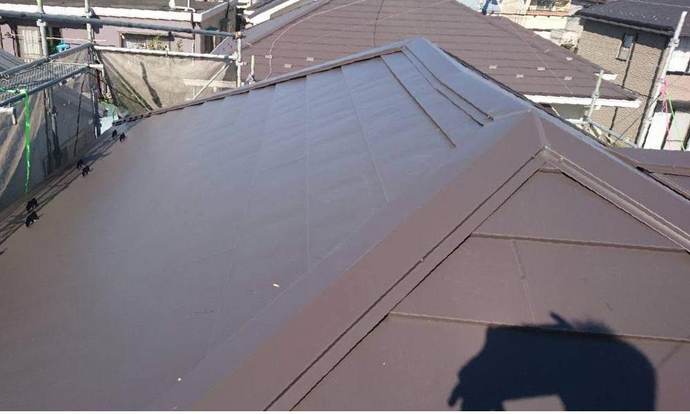 練馬区の屋根カバー工法リフォーム