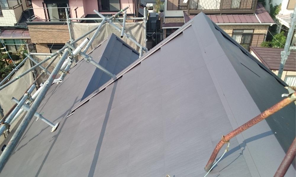 野田市の屋根カバー工法リフォーム