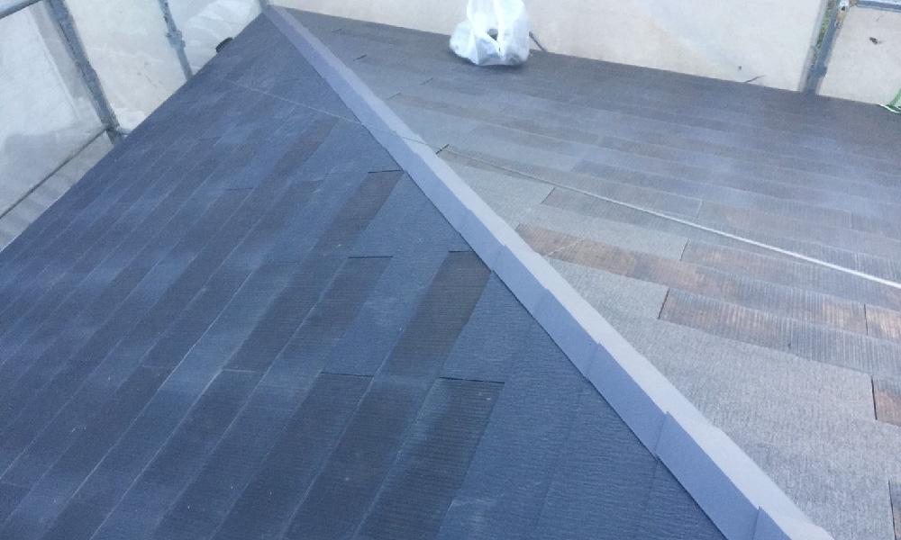 千葉市花見川区の屋根板金交換工事・屋根葺き直し工事