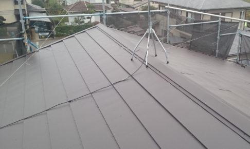 印西市の屋根カバー工法