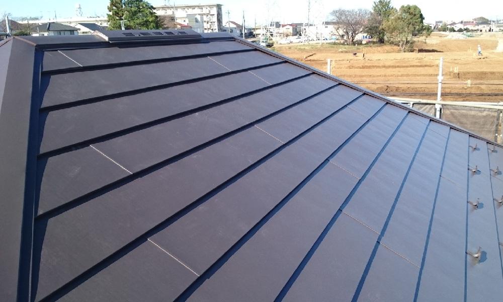 野田市の屋根葺き替え工事