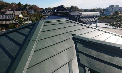 埼玉県草加市の屋根葺き替え工事