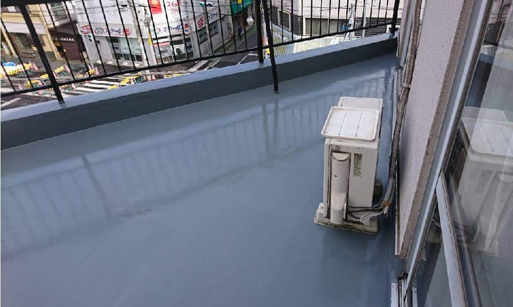 江戸川区のベランダ防水工事