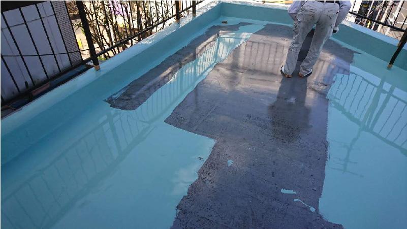 ベランダ防水工事ウレタン防水