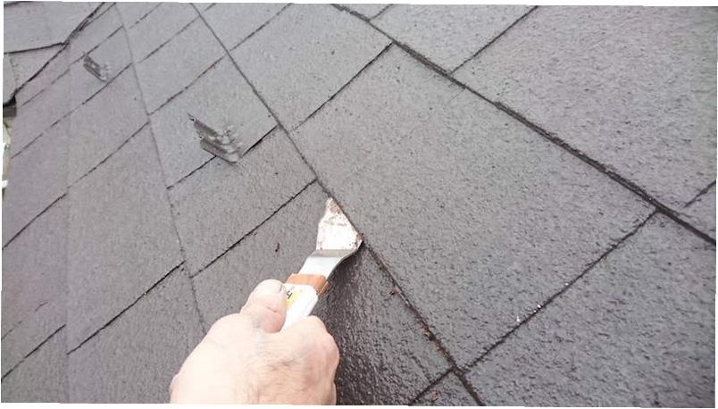 アスファルトシングル屋根の縁切り