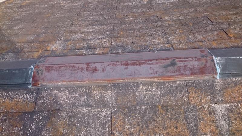 佐倉市の外壁塗装の施工前の様子