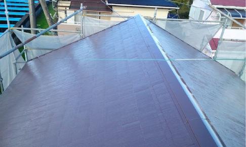 四街道市の屋根塗装工事