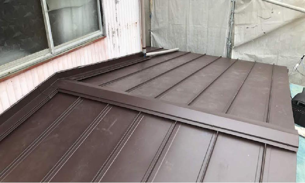 埼玉県八潮市の屋根葺き替え工事