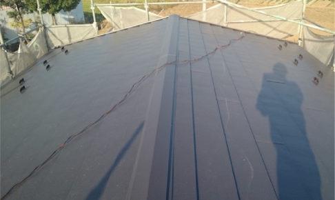 埼玉県三郷市の屋根カバー工法リフォーム