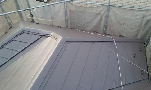 千葉県佐倉市の屋根カバー工法リフォーム