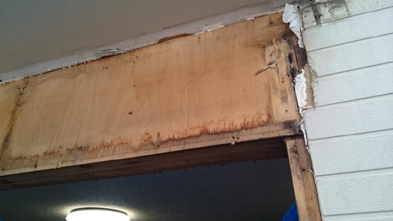 外壁の解体