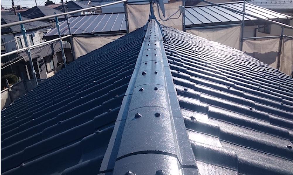 墨田区の屋根塗装工事
