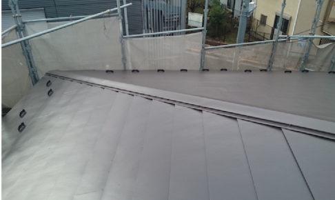 埼玉県八潮市の屋根カバー工法リフォーム