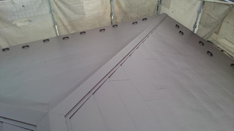 埼玉県八潮市の屋根板金の設置