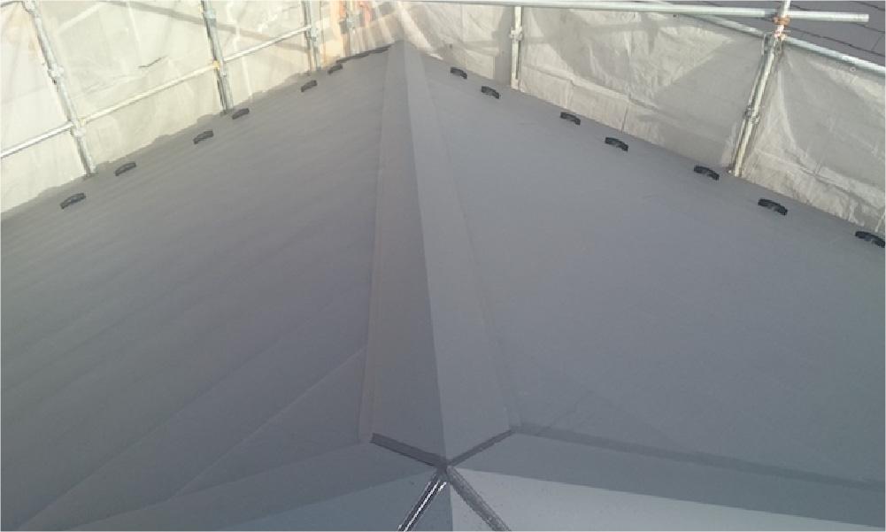 千葉県四街道市の屋根カバー工法