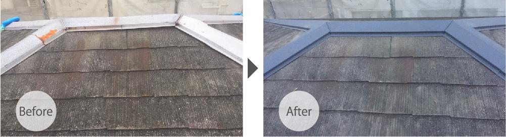 足立区の屋根板金交換工事